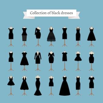 Pequeños vestidos negros