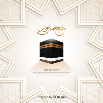 Peregrinación musulmana hajj festivo