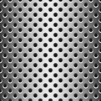 Perfecta textura de metal con agujeros