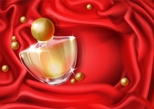 Perfume de mujer de lujo realista