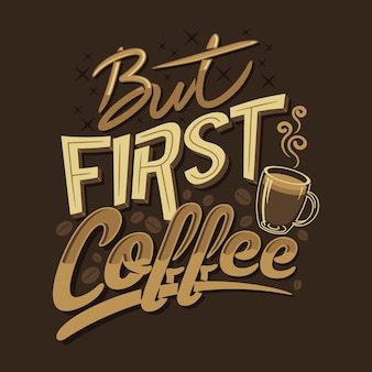 Pero el primer café cita refranes