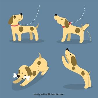 Perrito feliz ilustración