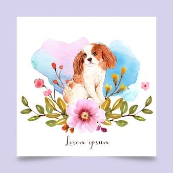 Perro arte e ilustración