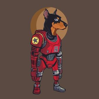 Perro cyborg