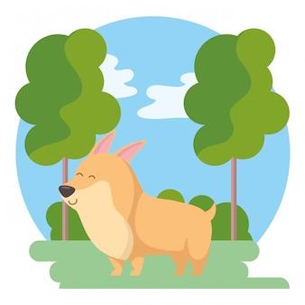Perro de dibujos animados