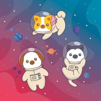 Perro espacial
