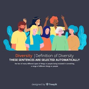 Persona de diferentes culturas y razas