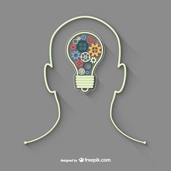Persona con una idea
