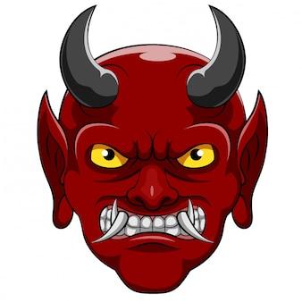 Un personaje de dibujos animados de diablo de ilustración