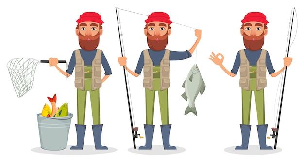 Personaje de dibujos animados de fisher