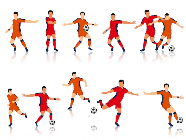 Personaje de futbolistas.