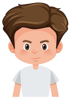 Un personaje joven