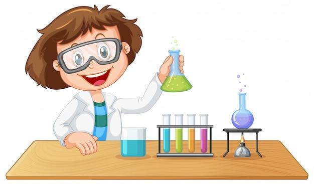 Un personaje de laboratorio