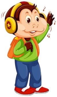 Un personaje de mono joven.