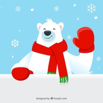 Personaje navideño con carta