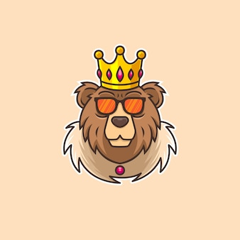 Personaje de oso oso