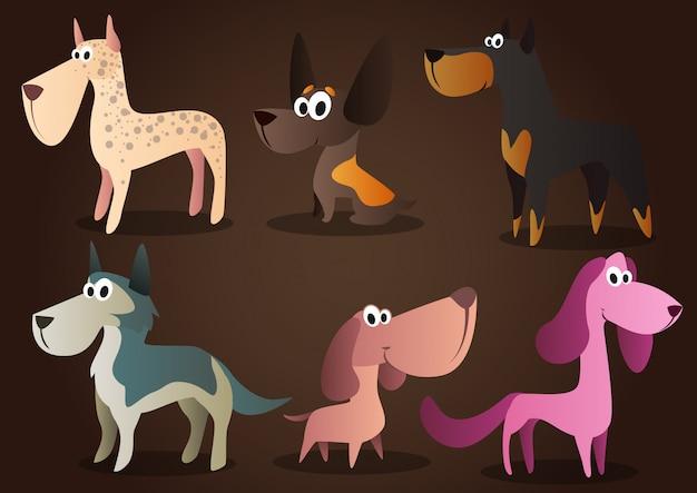 Personaje de perro