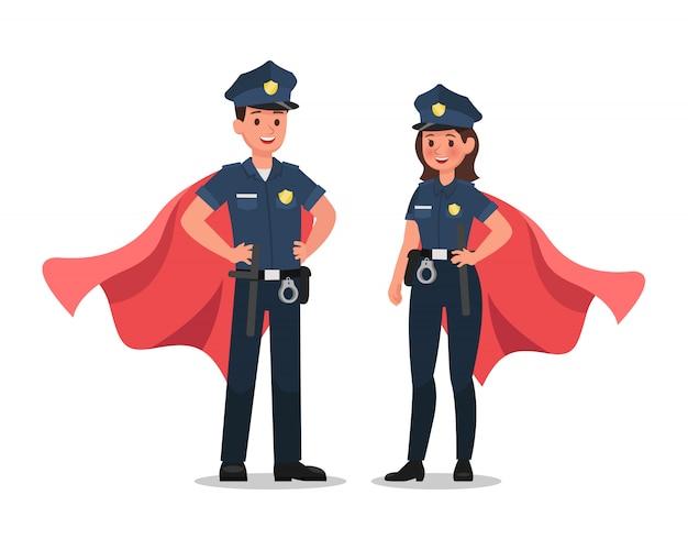 Personaje de la policía