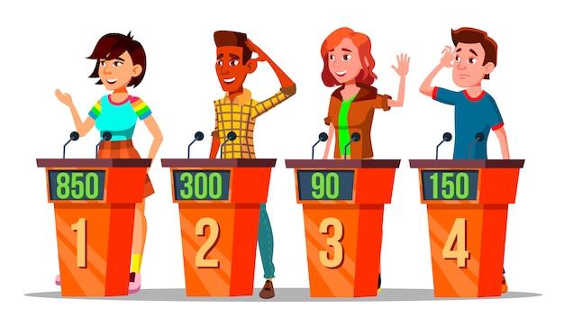Personaje que participa en el concurso de televisión