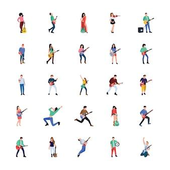 Personajes de cantante y músico