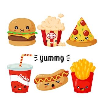 Personajes de comida rápida