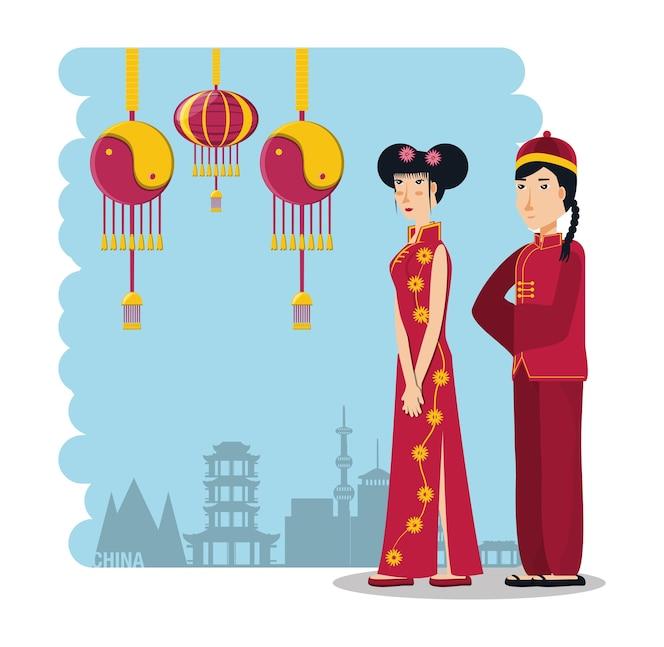 Personajes de la cultura china