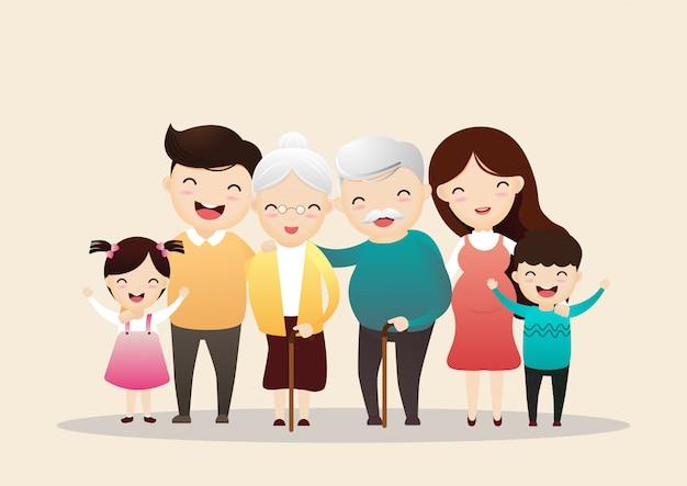 Personajes familiares