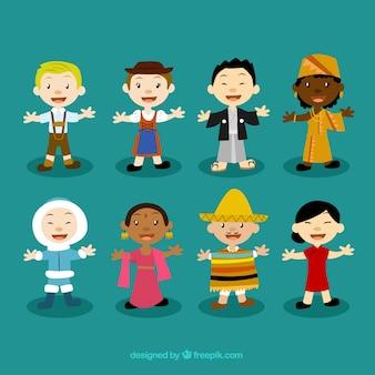 Personajes multiculturales