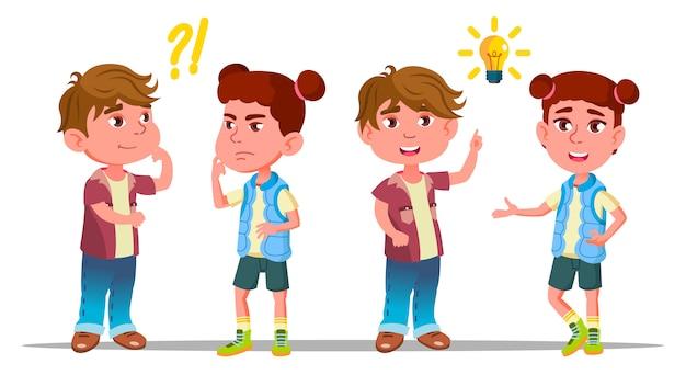 Personajes que los niños piensan y entienden