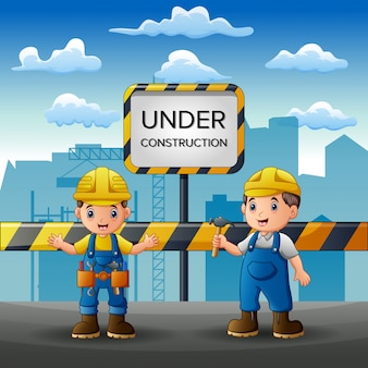Personal que trabaja en la construcción con antecedentes de la ciudad.