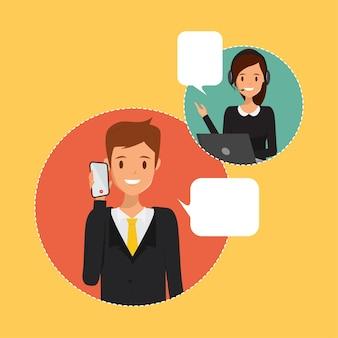 Personas en comunicación infografía