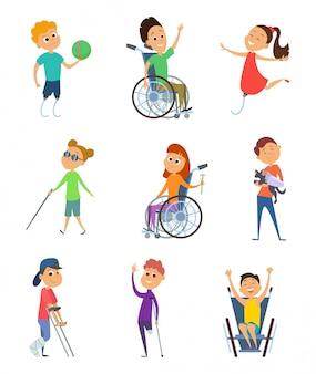 Personas discapacitadas.
