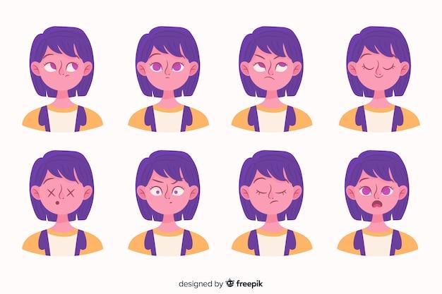 Personas mostrando emociones