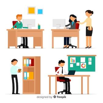 Personas en la oficina