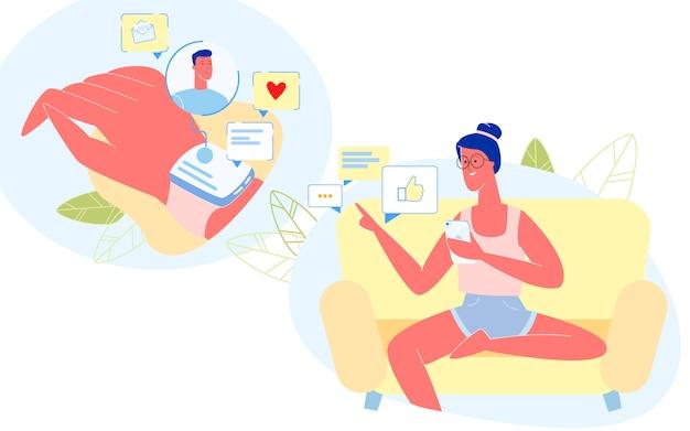 Personas que usan gadgets smartphone y relojes inteligentes.