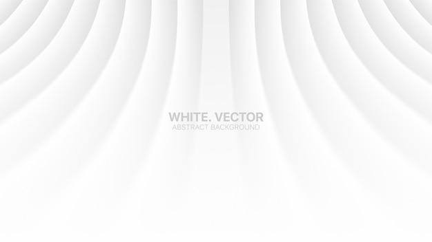 Perspectiva con líneas suaves dobladas vacío en blanco sutil