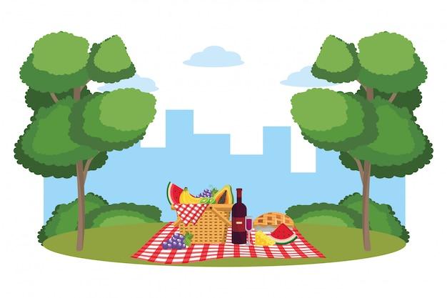 Picnic en el parque