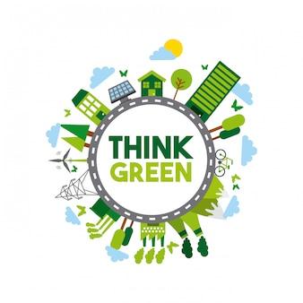 Piensa en diseño verde