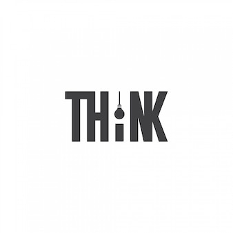 Piensa en el logo de la bombilla