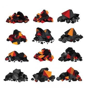 Pila de carbon