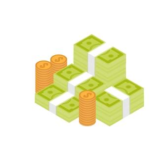 Pila de efectivo