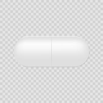 Píldora cápsula realista