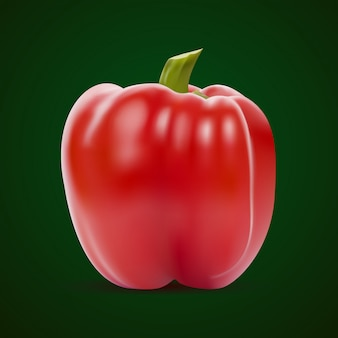 Pimiento rojo dulce