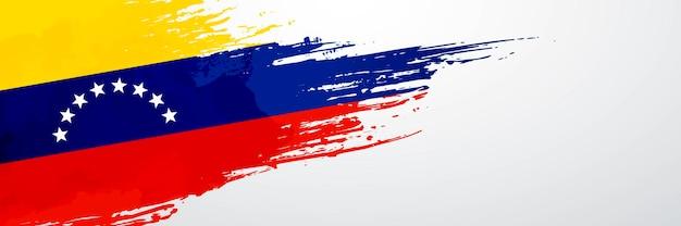 Pincel de banner de venezuela
