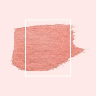 Pincelada rosa