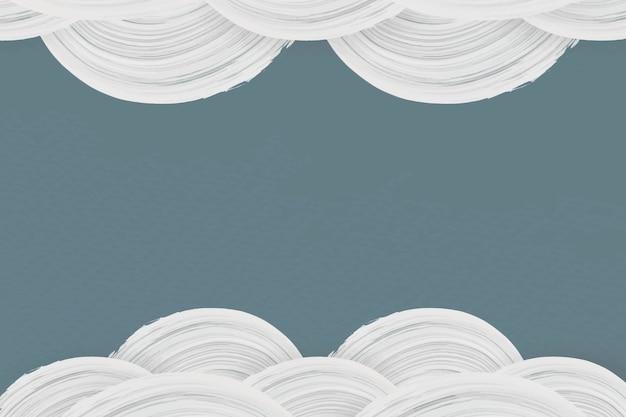Pinceladas blancas sobre un fondo