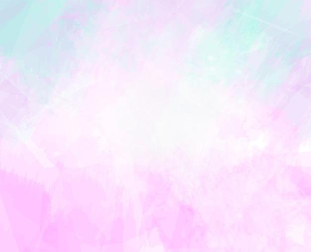 Pintado a mano abstracto colorido acuarela mancha fondo pintura digital
