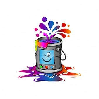 Pintura de balde