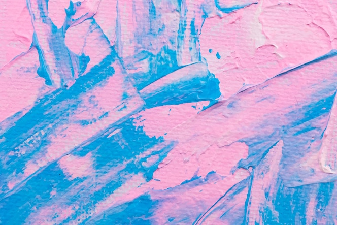 Pintura rosa con textura de fondo vector abstracto arte experimental de bricolaje