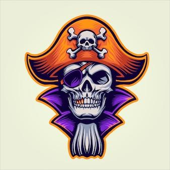 El pirata calavera